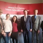 2015.04.28 Niederländische Delegation besucht TGD
