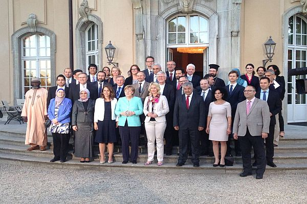 TGD beim Iftar  Empfang der Staatsministerin Aydan Özoguz